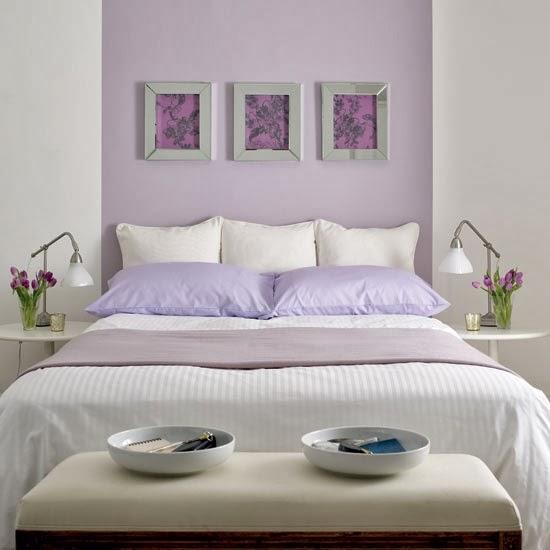 ιδέες διακόσμησης με χρώμα λεβάντας9