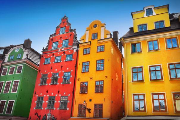 πολύχρωμες πόλεις - Gamla-Stan