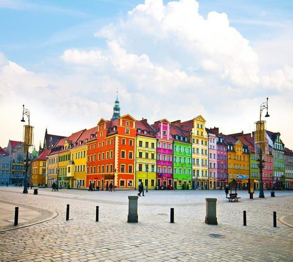 πολύχρωμες πόλεις - Wroclaw