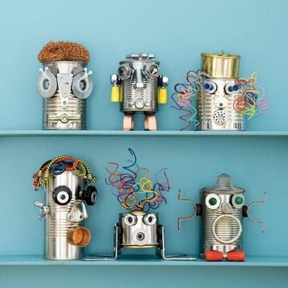 Diy ρομποτάκια για τα παιδιά από ανακύκλωση κουτιών