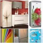 Ψυγεία με σχέδιο μια διακοσμητική πρόταση που θα απογειώσει την κουζίνα σας