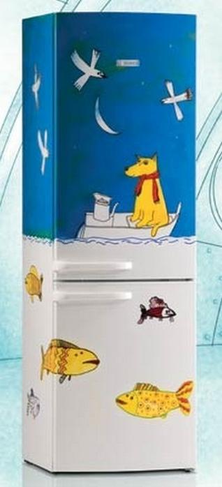 Ψυγεία με σχέδιο μια διακοσμητική πρόταση που θα απογειώσει την κουζίνα σας10