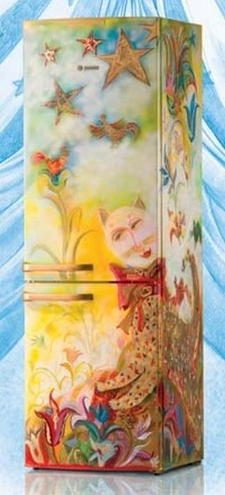 Ψυγεία με σχέδιο μια διακοσμητική πρόταση που θα απογειώσει την κουζίνα σας11