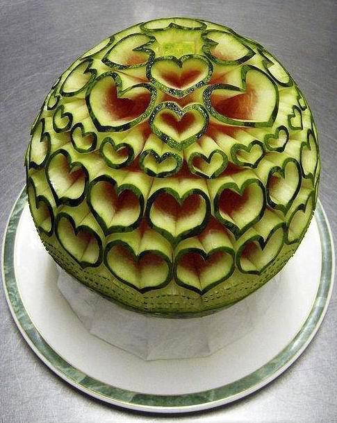 ιδέες διακόσμησης τραπεζιού με Φρούτα και Λαχανικά13