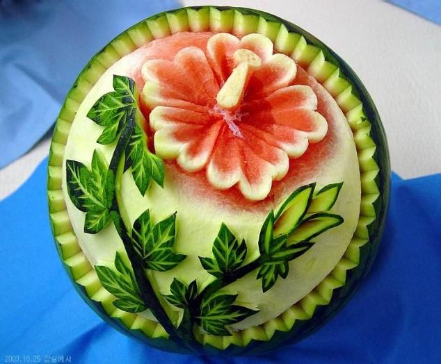 ιδέες διακόσμησης τραπεζιού με Φρούτα και Λαχανικά20