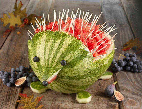 ιδέες διακόσμησης τραπεζιού με Φρούτα και Λαχανικά21