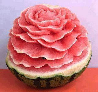 ιδέες διακόσμησης τραπεζιού με Φρούτα και Λαχανικά9