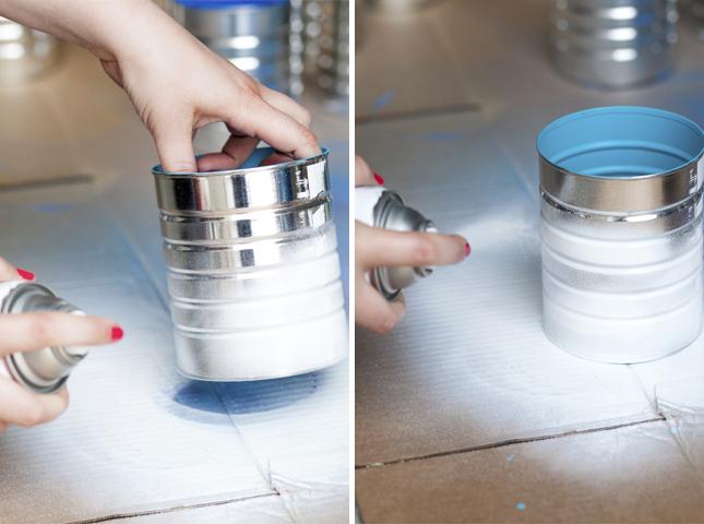 DIY ράφι κρασιών από κουτιά καφέ3