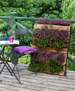 DIY σχέδια κάθετου κήπου14