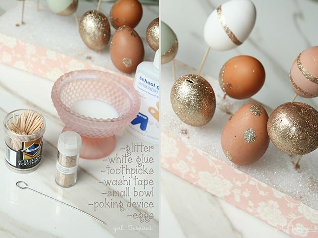 Glitter Πασχαλινά αυγά2