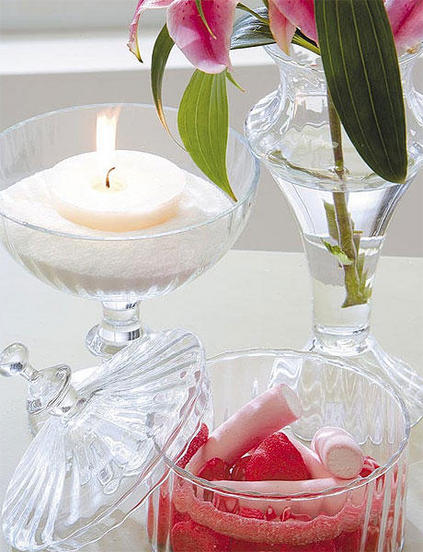 ιδέες διακόσμησης για τραπέζι με κεριά10