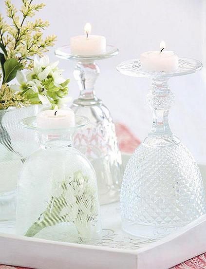 ιδέες διακόσμησης για τραπέζι με κεριά11