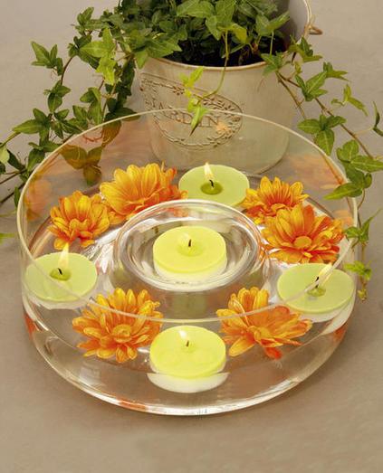 ιδέες διακόσμησης για τραπέζι με κεριά3