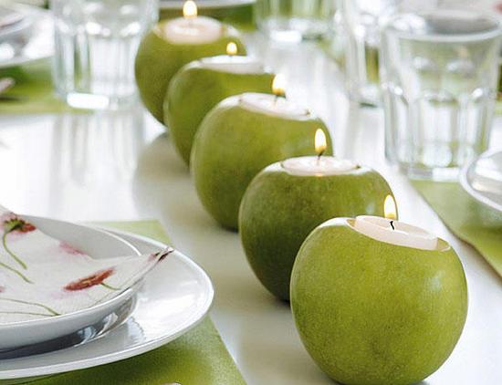 ιδέες διακόσμησης για τραπέζι με κεριά4