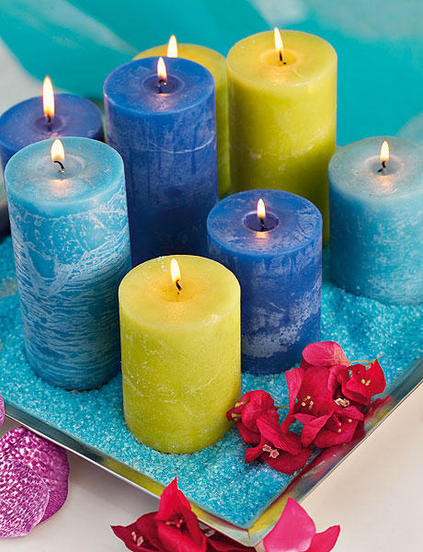 ιδέες διακόσμησης για τραπέζι με κεριά6