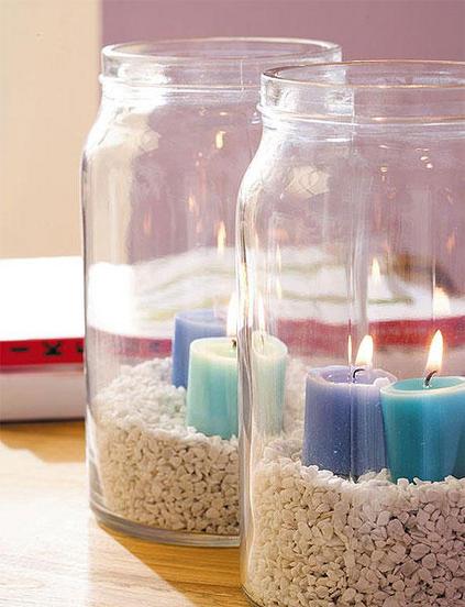 ιδέες διακόσμησης για τραπέζι με κεριά9