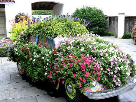 παρτέρια από ανακύκλωση  παλιών αυτοκινήτων και ελαστικών10