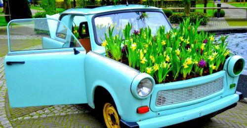 παρτέρια από ανακύκλωση  παλιών αυτοκινήτων και ελαστικών14
