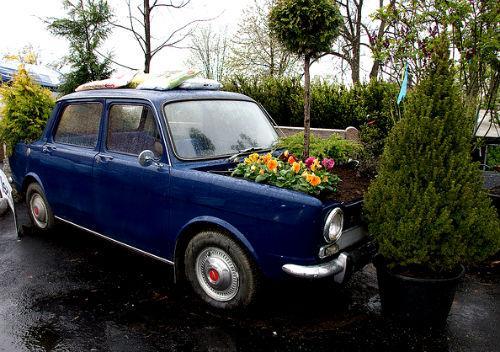 παρτέρια από ανακύκλωση  παλιών αυτοκινήτων και ελαστικών15