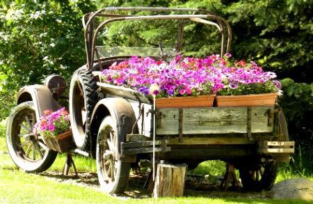 παρτέρια από ανακύκλωση  παλιών αυτοκινήτων και ελαστικών9
