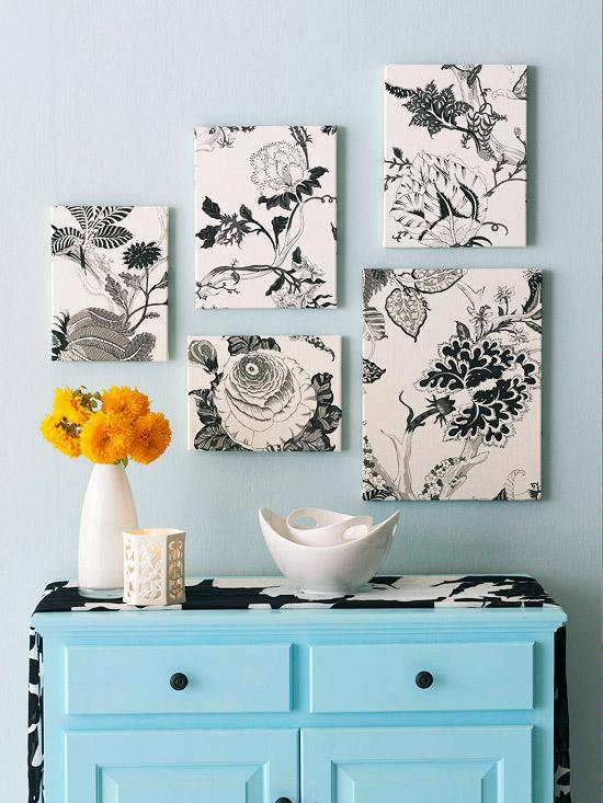 DIY Ιδέες Διακόσμησης τοίχου
