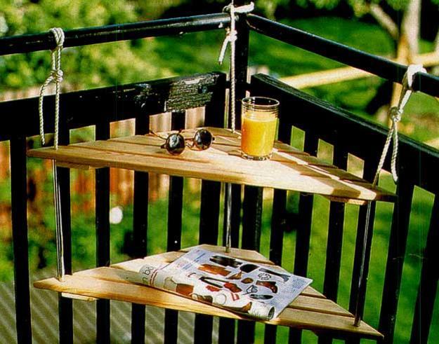 Έξυπνες ιδέες μπαλκονιού με έπιπλα και γλάστρες για εξοικονόμηση χώρου1