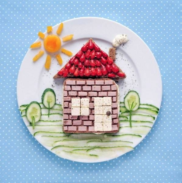 Δημιουργική Διακόσμηση Τροφίμων για παιδιά2