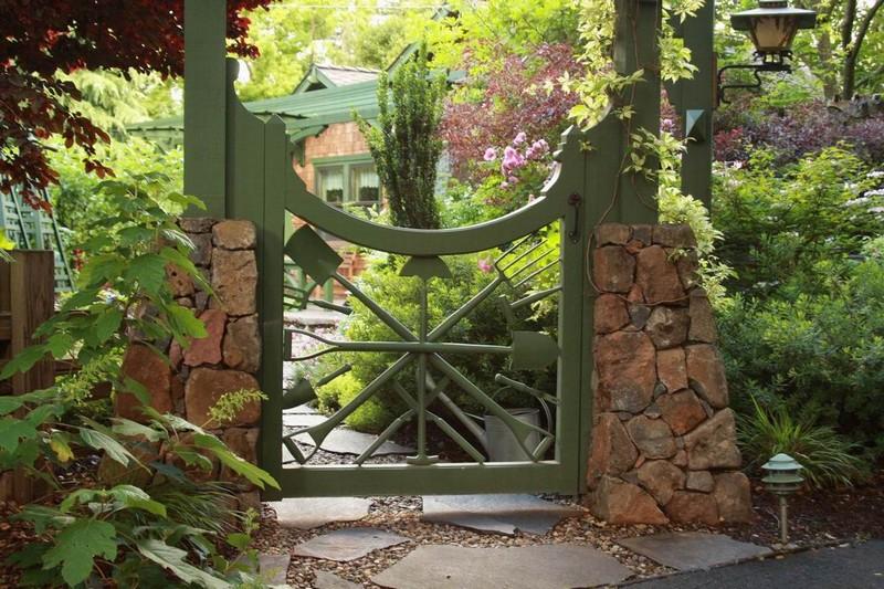 Μοναδικές ιδέες με πόρτες κήπου11