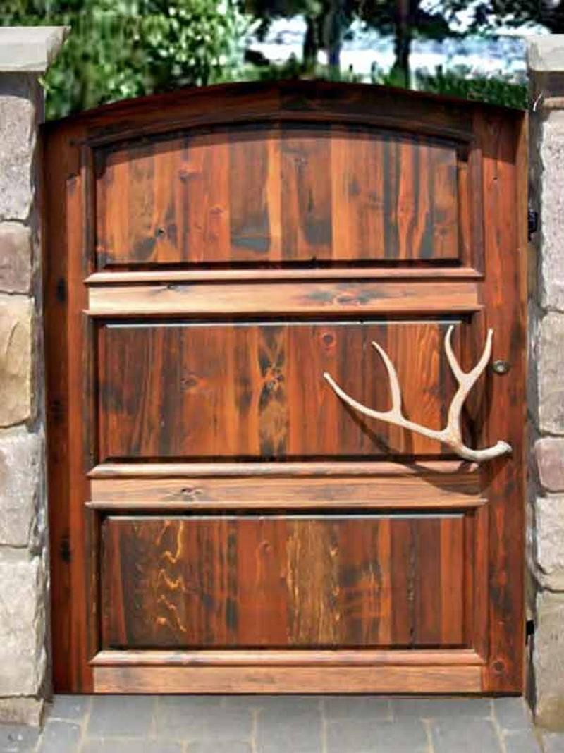 Μοναδικές ιδέες με πόρτες κήπου16