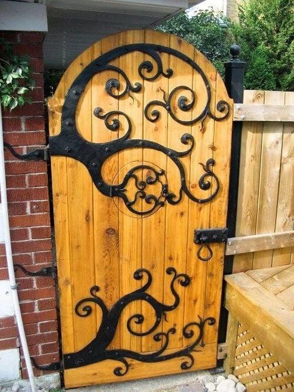 Μοναδικές ιδέες με πόρτες κήπου2