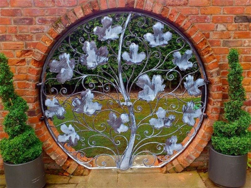 Μοναδικές ιδέες με πόρτες κήπου20