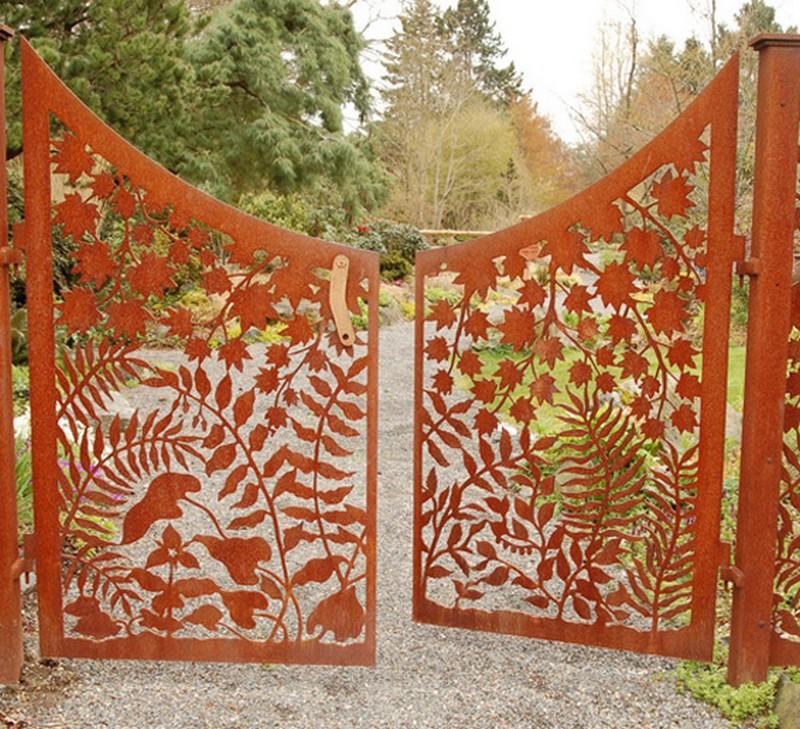 Μοναδικές ιδέες με πόρτες κήπου27