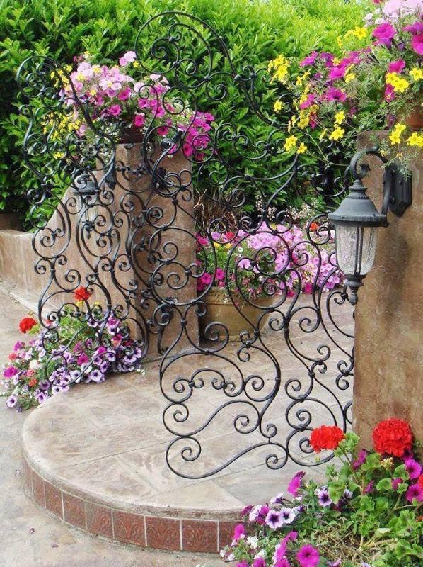 Μοναδικές ιδέες με πόρτες κήπου5