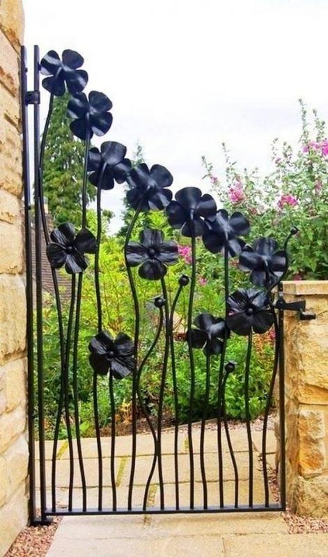 Μοναδικές ιδέες με πόρτες κήπου6