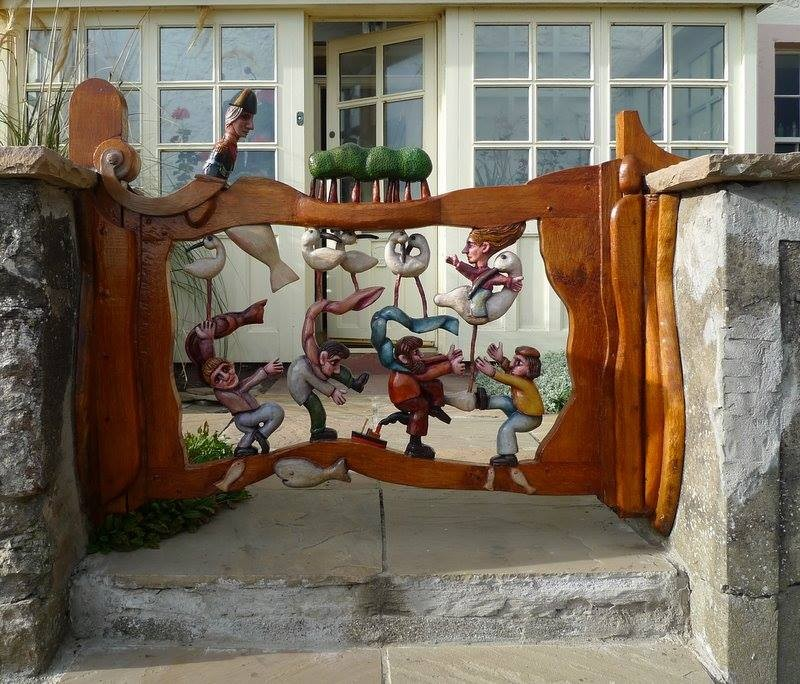 Μοναδικές ιδέες με πόρτες κήπου7