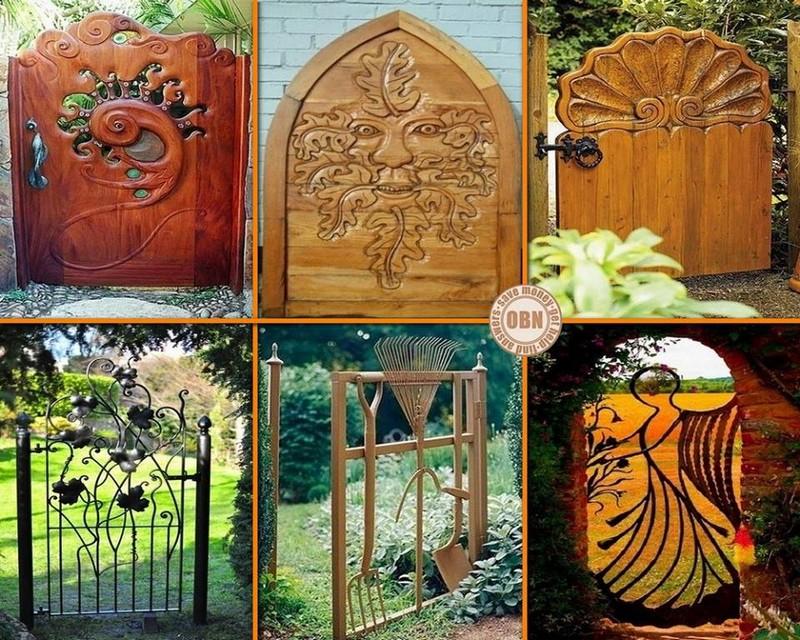 Μοναδικές ιδέες με πόρτες κήπου8