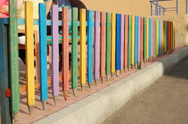 Πολύχρωμες Ιδέες για φράχτες12