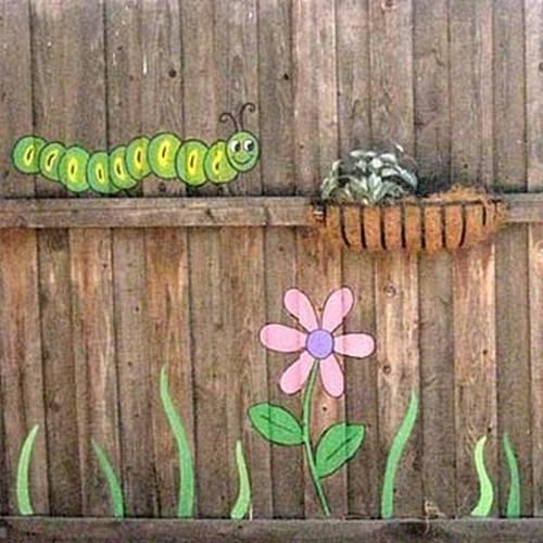 Πολύχρωμες Ιδέες για φράχτες14