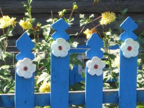 Πολύχρωμες Ιδέες για φράχτες17