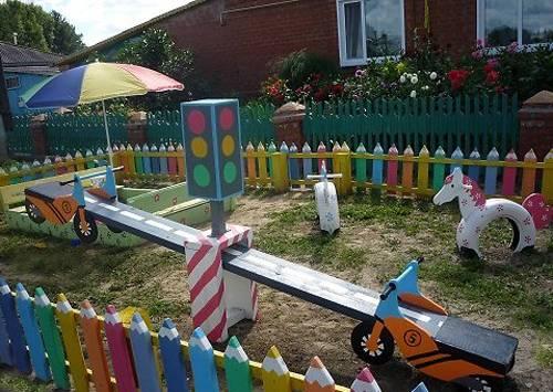 Πολύχρωμες Ιδέες για φράχτες18