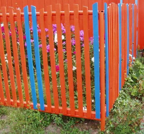 Πολύχρωμες Ιδέες για φράχτες19