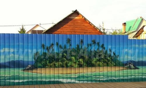 Πολύχρωμες Ιδέες για φράχτες2