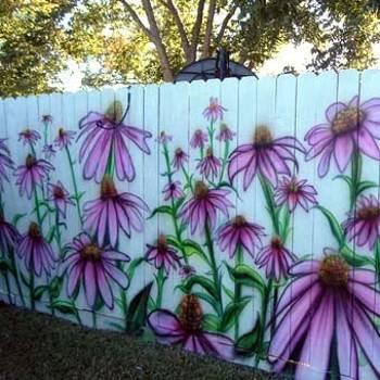Πολύχρωμες Ιδέες για φράχτες26