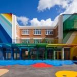 όμορφο και πολύχρωμο σχολείο1