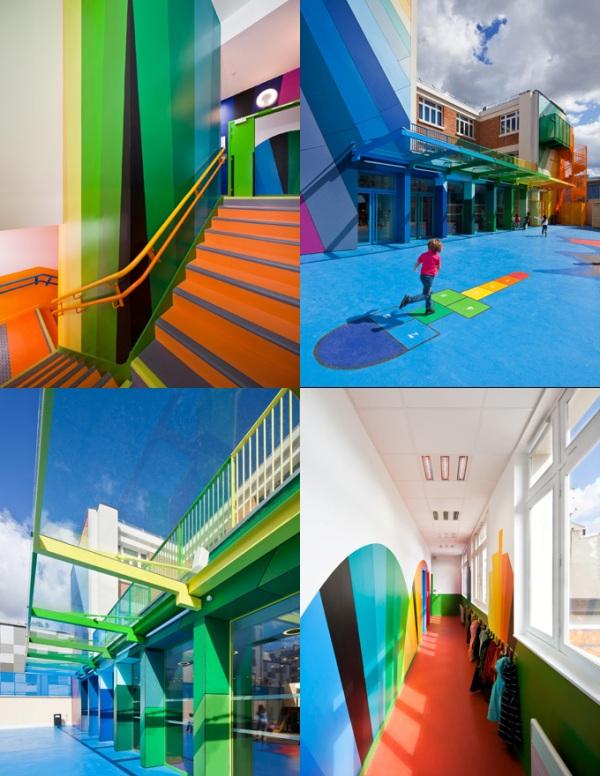 όμορφο και πολύχρωμο σχολείο3