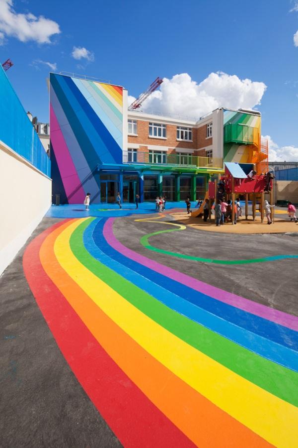 όμορφο και πολύχρωμο σχολείο5