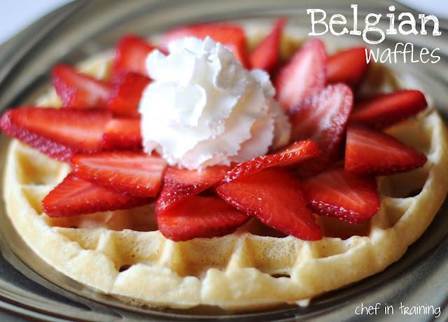 13. Belgian Waffles - Belgium