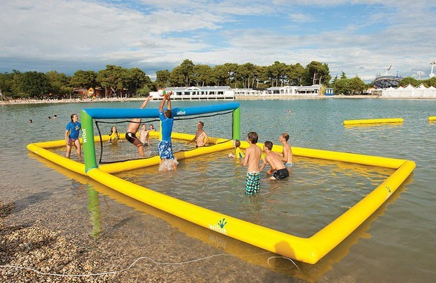 3. Inflatable Volleyball Court