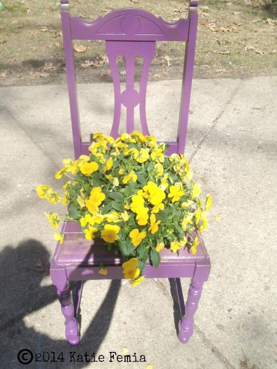 DIY Γλάστρες Κήπου από παλιά υλικά14