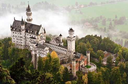 Neuschwanstein Castle, Germany_b